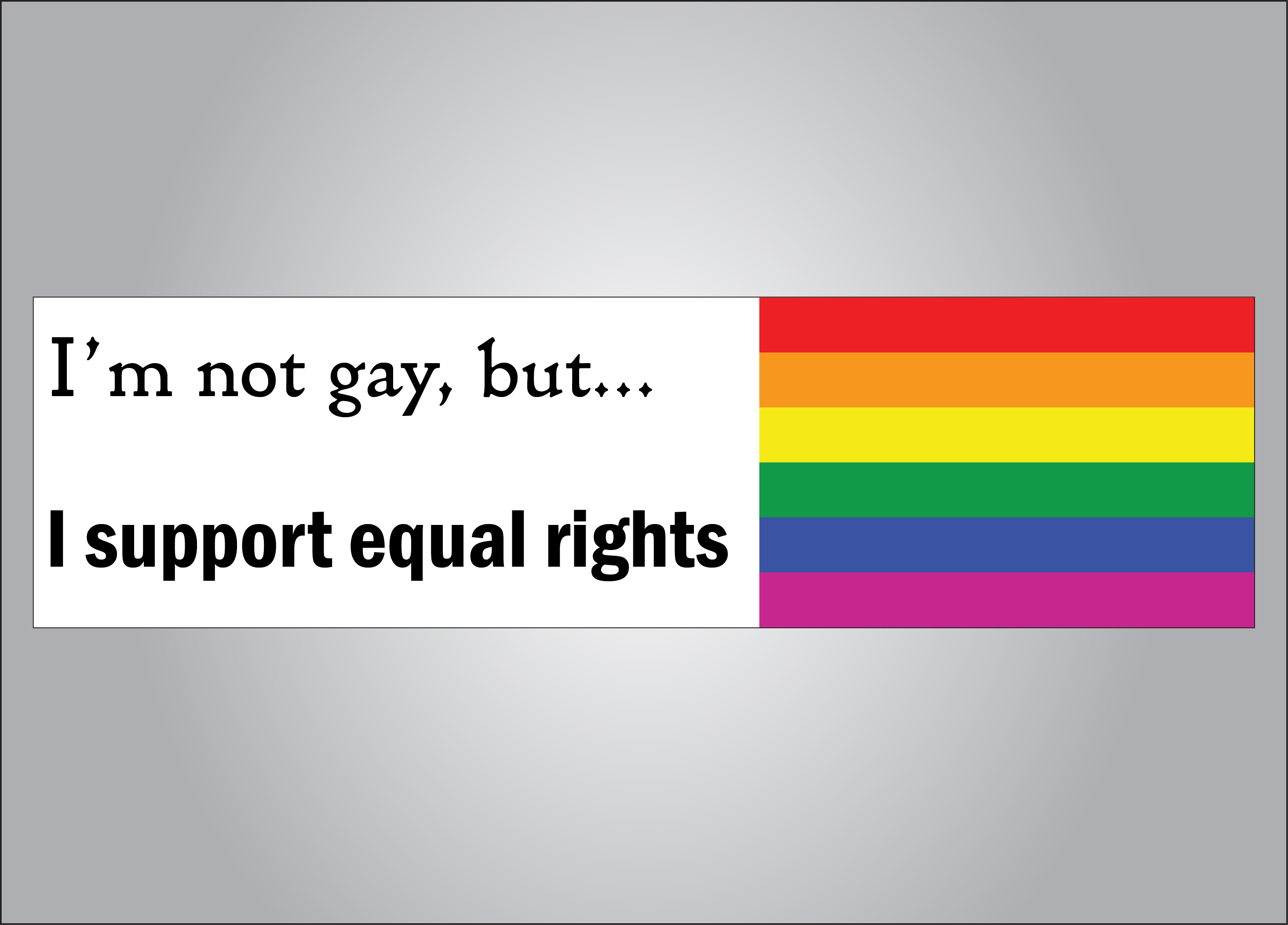 Equal rights for all is a fight worth fighting