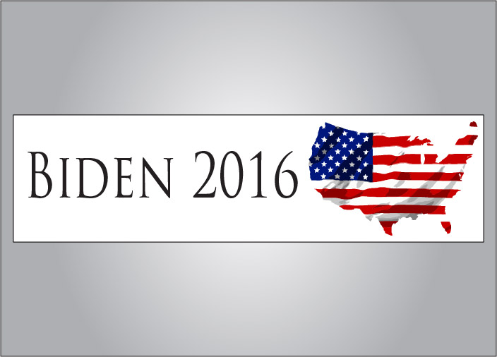 Joe biden 2016 political bumper sticker