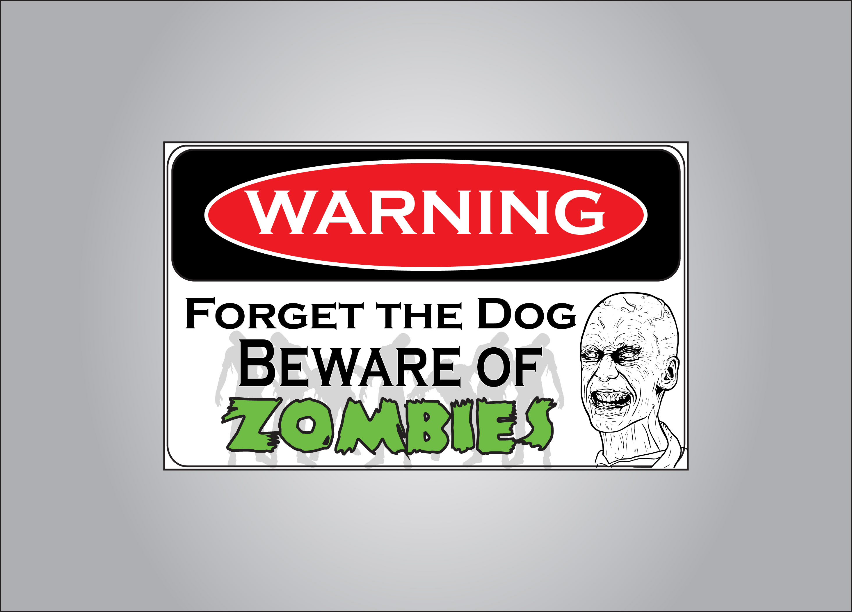 Attack zombies are more fierce than attack dogs any day.