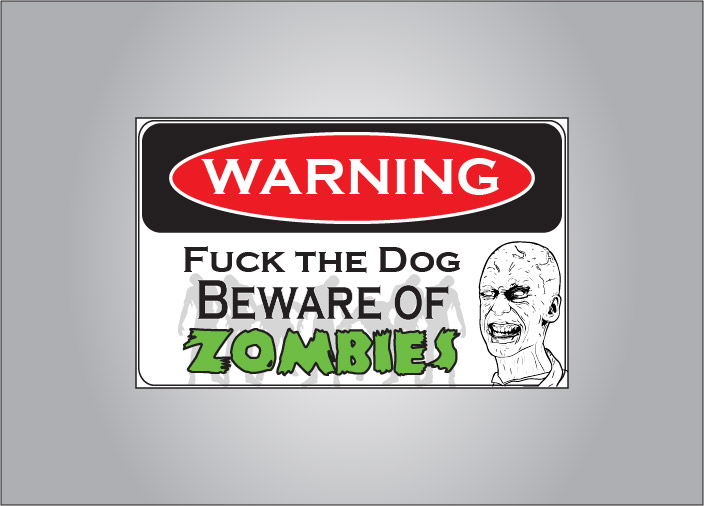 Attack zombies within - be sure to warn would be trespassers.