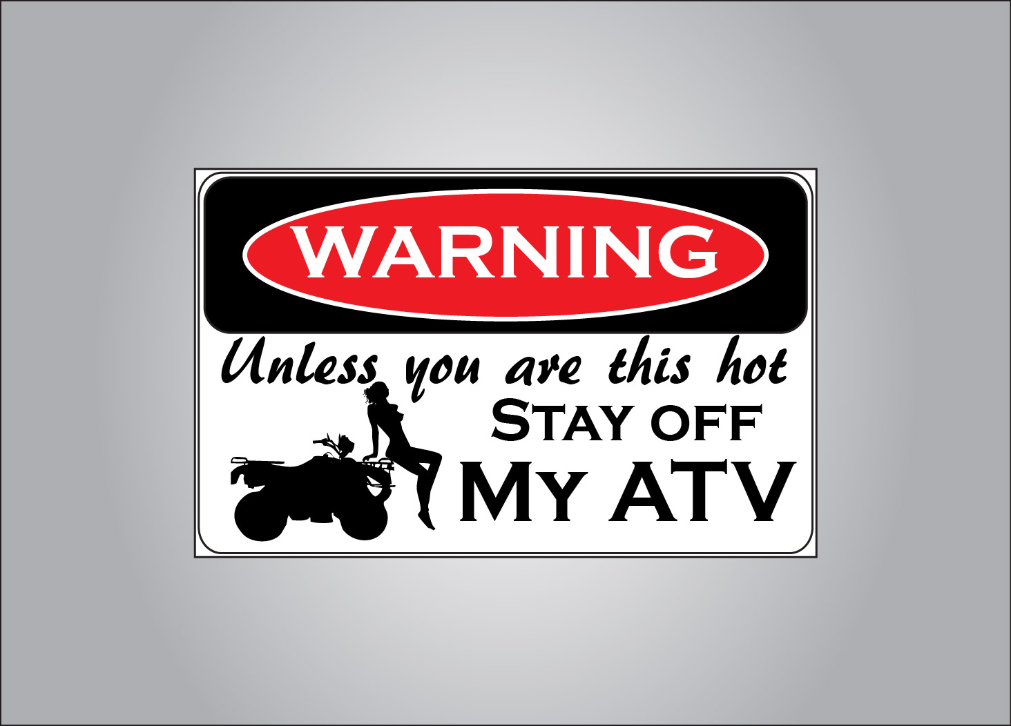Stay off - unless you are hot...